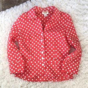 Talbots Linen Lightweight Shirt/Jacket